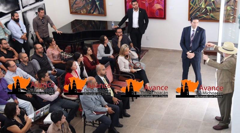 Alfonso Martínez respalda iniciativas ciudadanas a favor de Morelia.