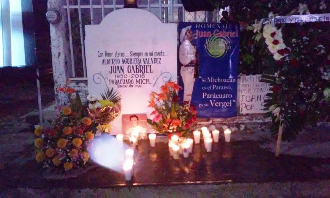 Juan Gabriel el artista más grande de los últimos tiempos