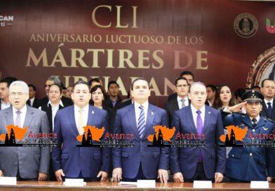 Llama Adrián López a fortalecer las Instituciones.