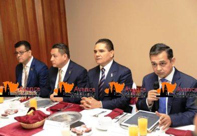 Encabeza Gobernador Silvano Aureoles Conejo, encuentro con sector empresarial de Uruapan