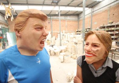 Donald Trump y Hillary Clinton, disfraces de terror para Halloween