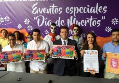 Anuncian actividades por el Día de Muertos en Veracruz.