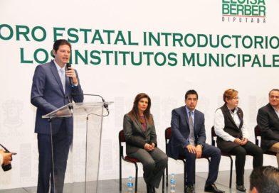 Institutos Municipales de Planeación, indispensables para un buen Gobierno: Alfonso Martínez