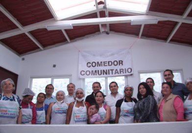 Inaugura Gobierno Municipal comedor comunitario en la colonia Ampliación Ignacio López Rayón