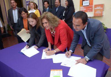 Gobierno Municipal y Estatal, unen fuerzas en favor de las mujeres