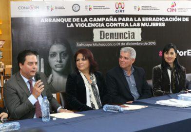 """Llega campaña """"Denuncia. Yo te acompaño, no estás sola, yo voy contigo"""" a Sahuayo y Zamora"""