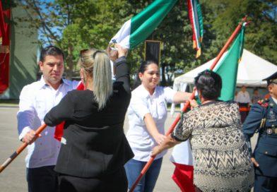La bandera de México, da aliento de valor y fuerza a los mexicanos