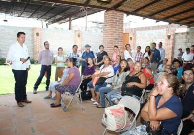 PRD sigue fortaleciendo a la base militante en Michoacán: García Conejo