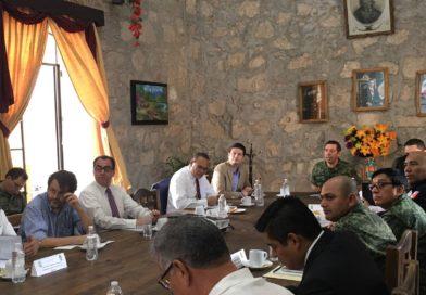 Alfonso Martínez sostiene diálogo permanente con Federación y Estado por la seguridad de Morelia