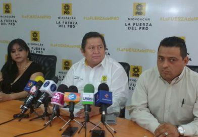 Exige PRD más atención de Alfonso Martínez en obras viales inconclusas