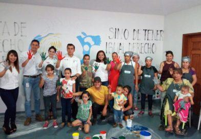 Actividades artísticas fortalecen pertenencia a Comedores Comunitarios