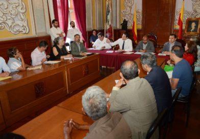Alfonso Martínez estrecha lazos con Jefes de Tenencias