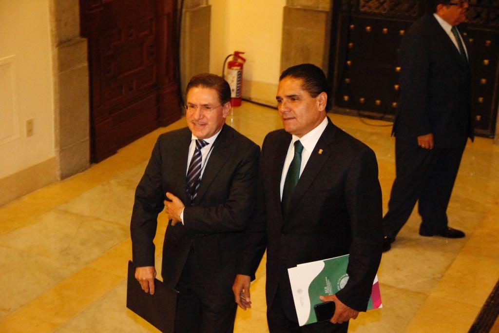 Refrenda Silvano Aureoles compromiso de garantizar seguridad de las y los michoacanos