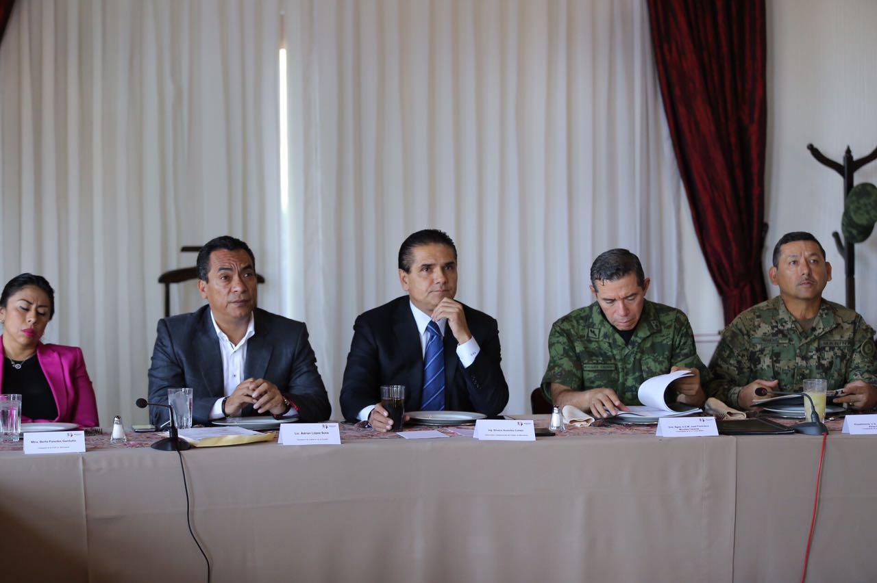 Revisa GCM estrategia de seguridad en regiones Zamora y Uruapan