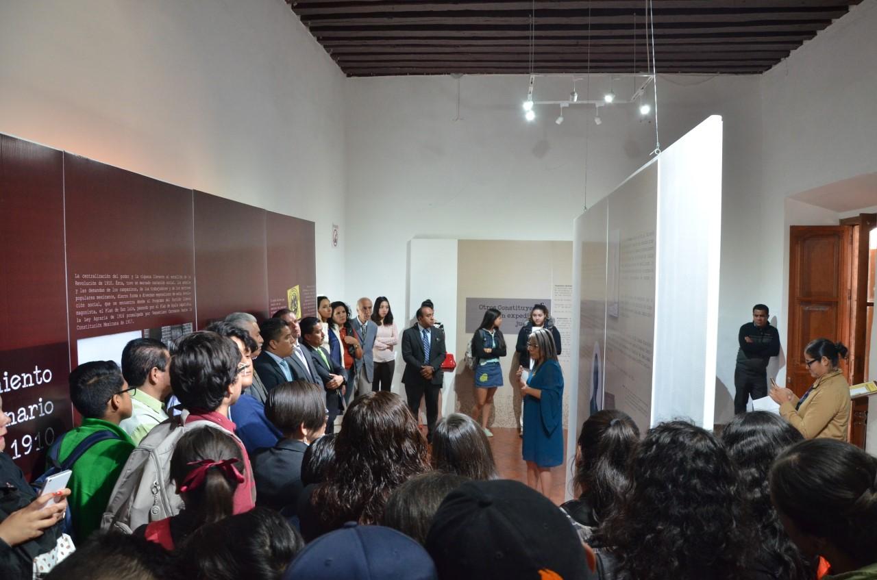 Presentan imágenes de juzgadores michoacanos integrantes del Constituyente de 1917 en Museo Histórico del Poder Judicial