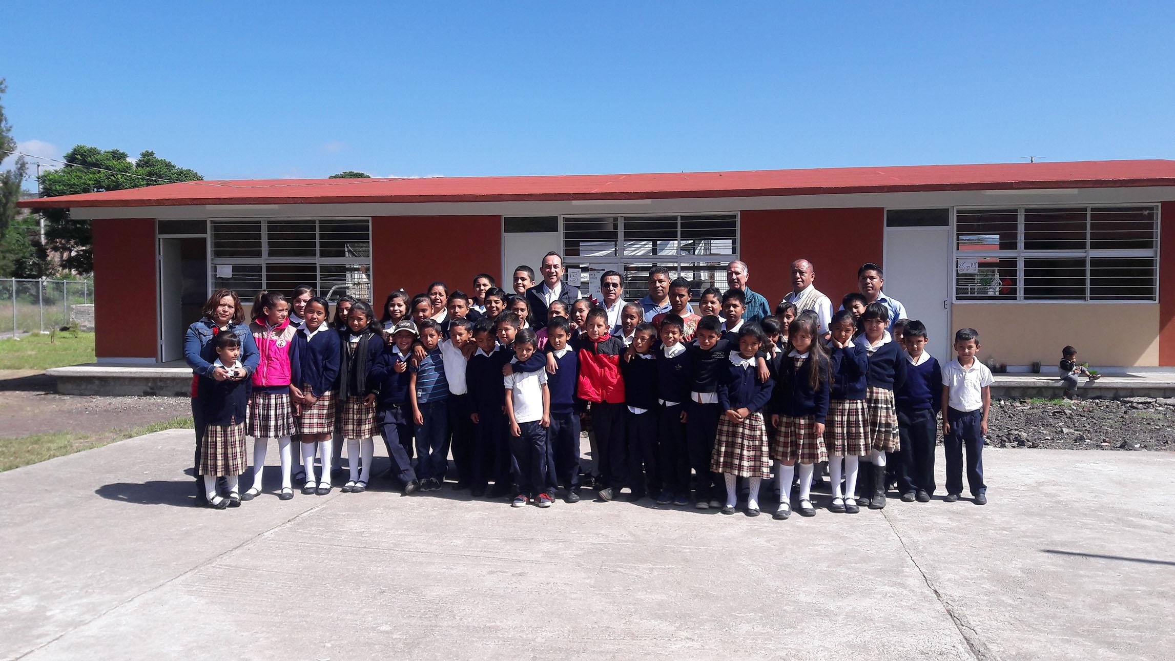Espacios educativos dignos, premisa del Gobierno de Michoacán