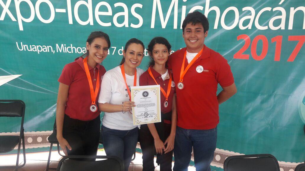 Estudiantes del Cobaem representarán a Michoacán en expo internacional de ciencia