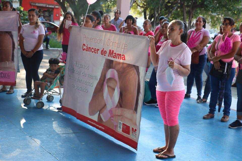 Conmemoran Día Mundial de la Lucha Contra el Cáncer de Mama