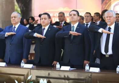 Preside Gobernador CLII Aniversario Luctuoso de los Mártires de Uruapan