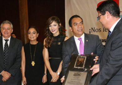 Encabeza Secretario de Gobierno el XVI Aniversario del Diario ABC de Michoacán