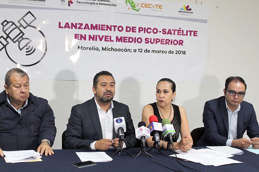 Inicia cuenta regresiva para lanzamiento de picosatélites michoacanos