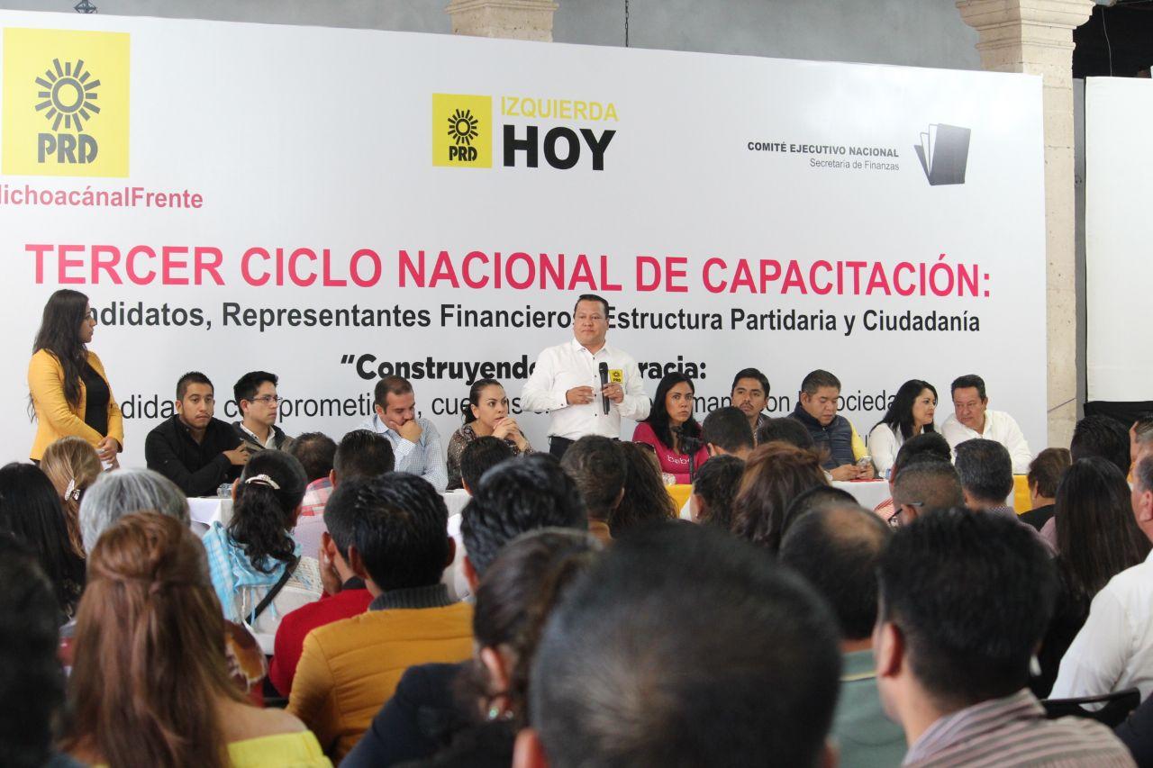 Inaugura PRD capacitación a candidatos en temas fiscales