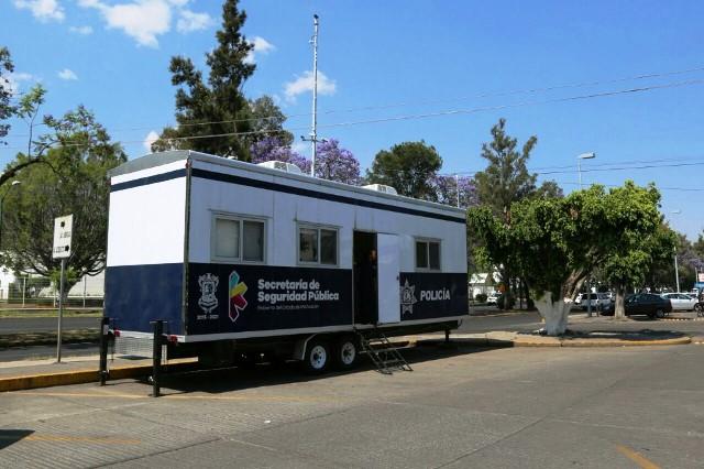 Instala SSP módulo de vigilancia en zona bancaria de Morelia