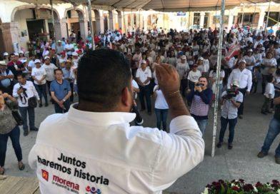 Desde el Congreso de la Unión, se trabajara para ampliar el presupuesto para gasto social en los municipios: Paco Haucus