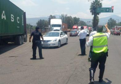 Libera SSP bloqueo de normalistas en Morelia