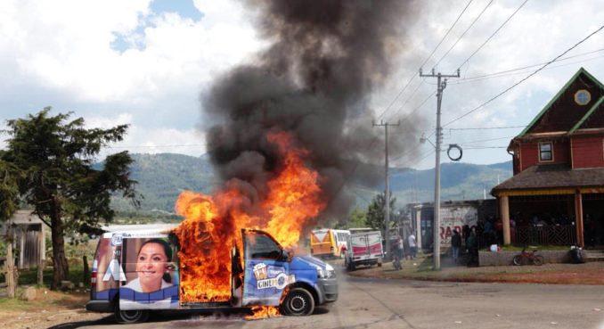 Actos vandálicos en Nahuatzen tendrán su castigo: Pascual Sigala
