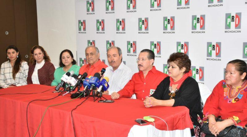 Presenta el PRI Michoacán a sus nuevos integrantes