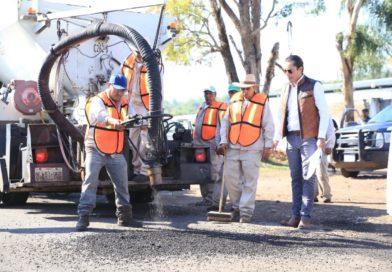 Más de 61 mil personas se beneficiarán con rehabilitación de carretera Huandacareo – Zináparo