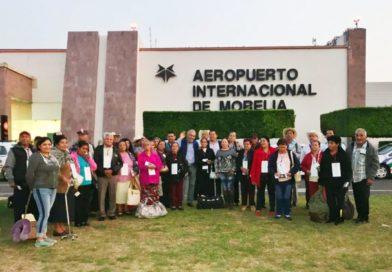 Inician reencuentros de adultos y adultas mayores de Morelia con sus familias en EU