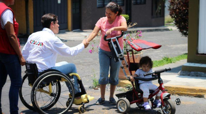 Morelia será la ciudad de la inclusión, comprometen Gerónimo color y Eduardo Zárate
