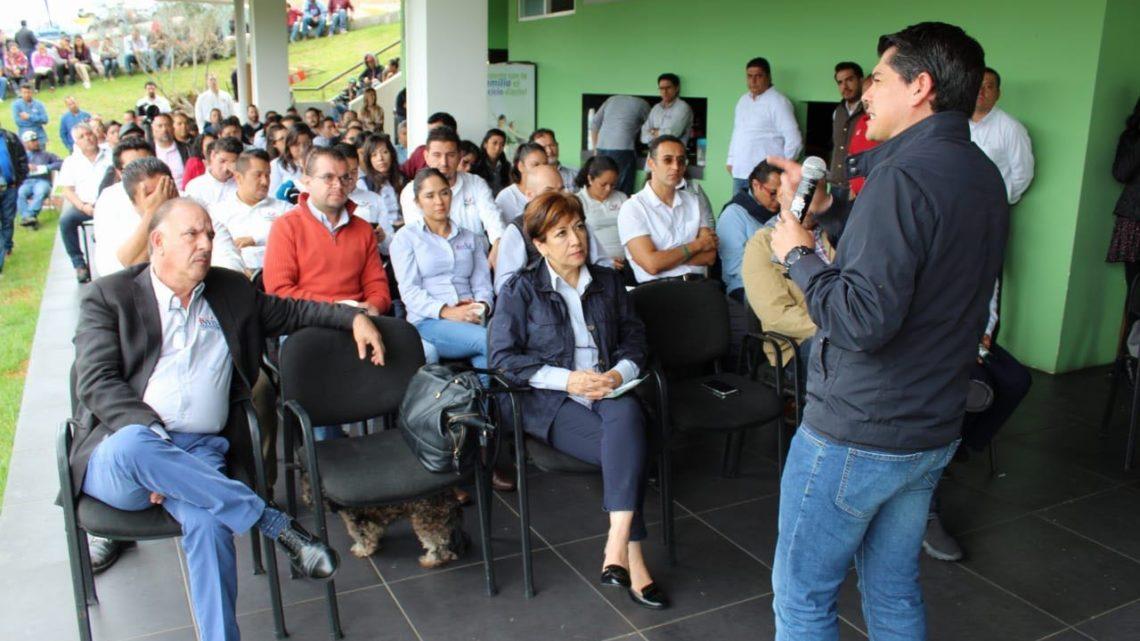 Ixtláhuac, candidato del PRI para Senador de la República asegura que es el momento de hablar por México