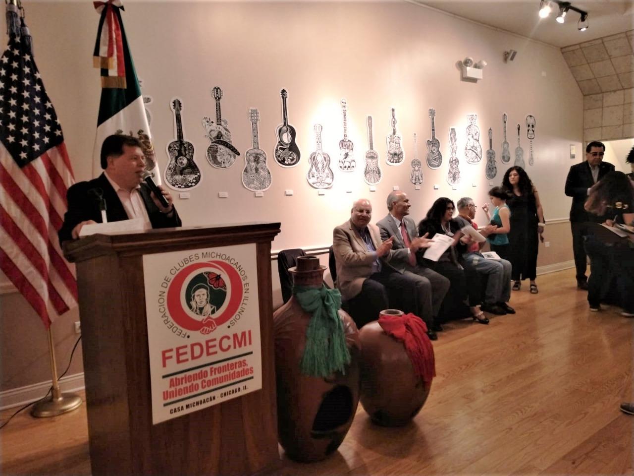 Difunden tradiciones michoacanas en Chicago