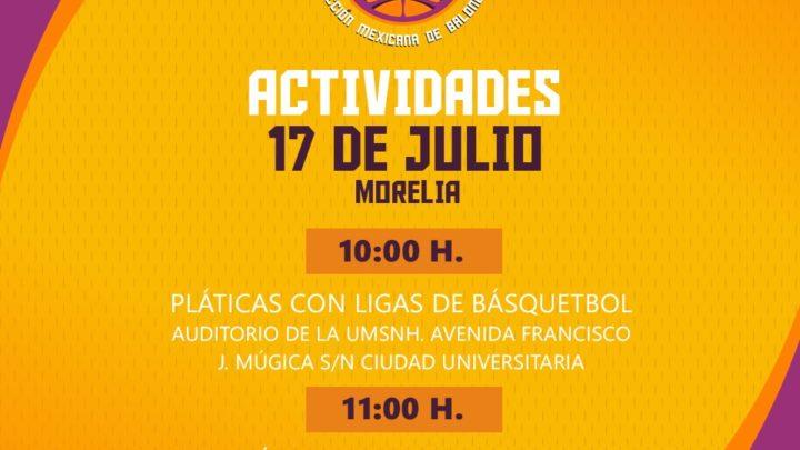 Selección Nacional de Básquetbol se reunirá con equipos y entrenadores locales