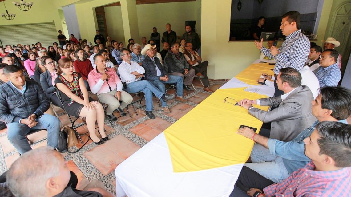 Fortalecer al PRD desde su estructura para trabajar con la ciudadanía: Toño García