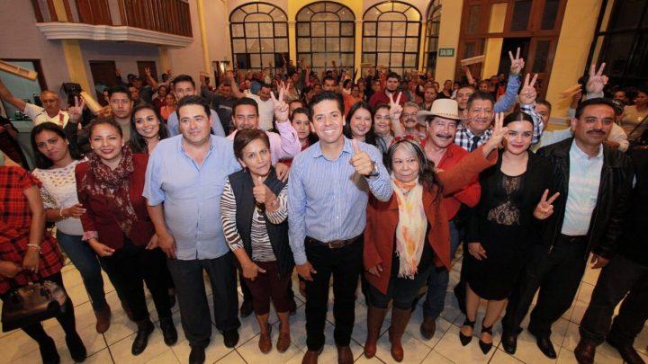 Toño García trabajará y estará presente siempre en Michoacán.