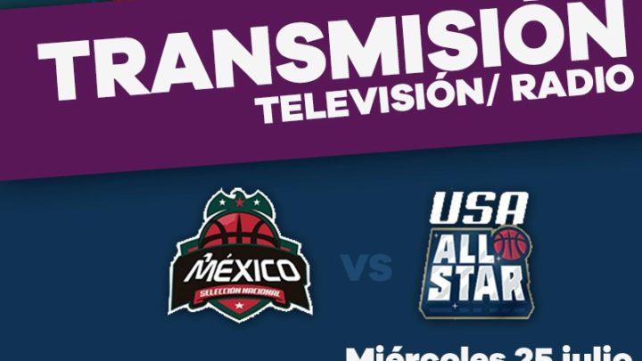 Sigue en vivo el juego de la Selección Nacional vs USA All Stars