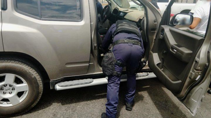 Recupera Policía Michoacán 6 vehículos robados en Uruapan