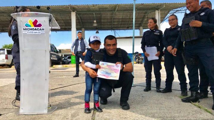 Realiza SSP curso de verano para hijos de elementos de la Policía Michoacán