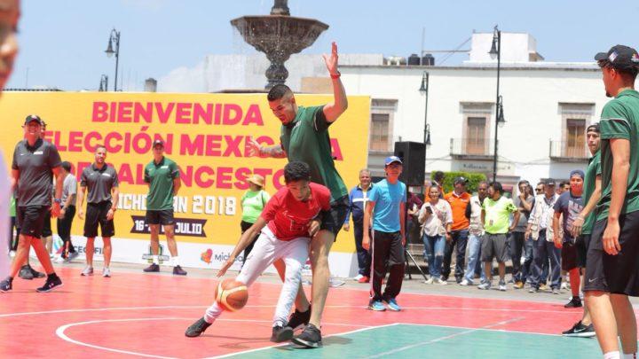 Conquistan los 12 Guerreros al público moreliano con exhibición de básquetbol