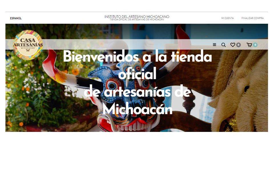 Michoacán  a la vanguardia en venta de artesanías en línea