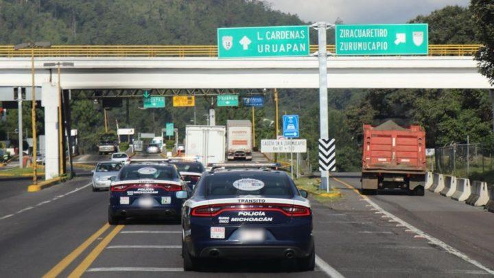 Mantiene SSP presencia en la Autopista Siglo XXl