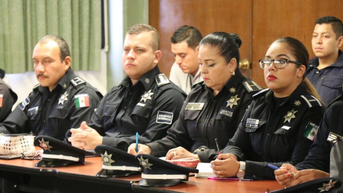 Policías de Michoacán reciben capacitación de especialistas chilenos