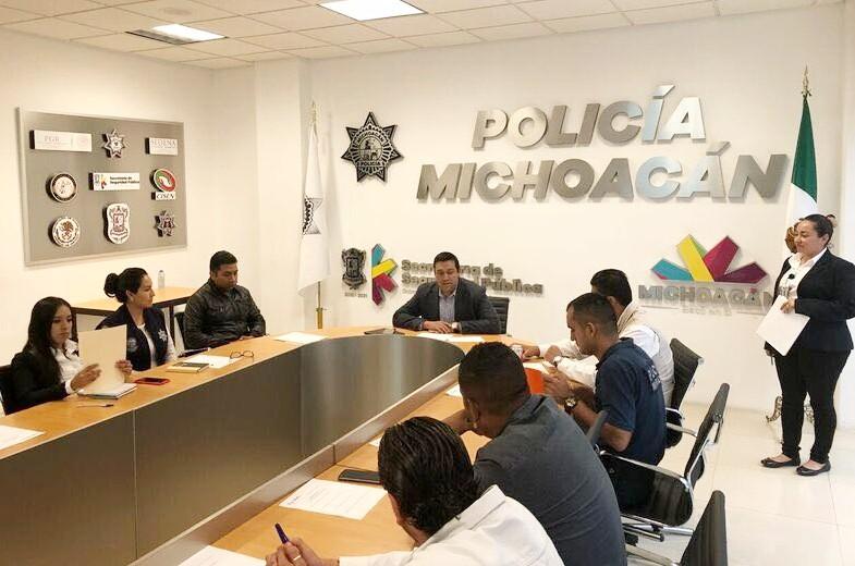 Avanza SSP Michoacán en acreditación CALEA