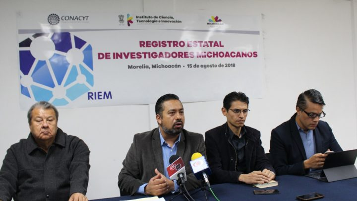 Abren Convocatoria al Registro Estatal de Investigadores Michoacanos 2018