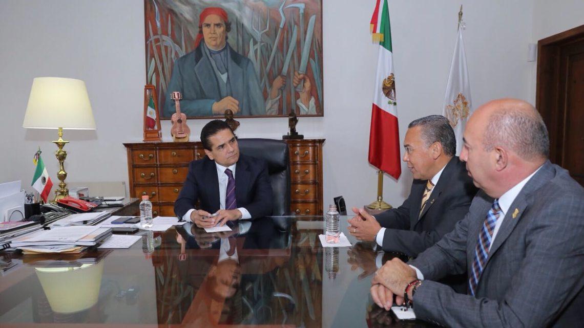 Fortalecerán Estado- Federación operatividad de los Conalep en Michoacán