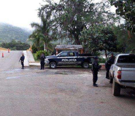 Despliegue operativo continuo de la Policía Michoacán